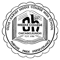 Olive-Harvey Middle College Logo