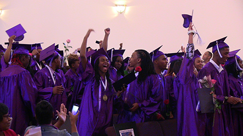Youth Connection Charter School Graduation